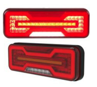 5-funktions Trailer Light MO-2 LED 2-pack